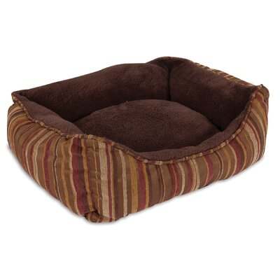Rectangular Lounger Bolster Dog Bed