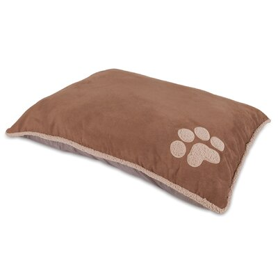 Shearling Knife Edge Dog Pillow Bed Size: Small (36 L x 27 W)
