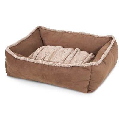 Shearling Lounger Dog Bed Size: Large (35 L x 27 W)