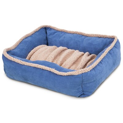 Shearling Lounger Dog Bed Size: 24 L x 20 W
