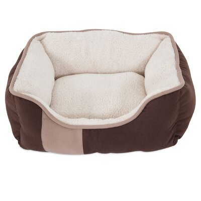 Classic Bolster Dog Bed Size: 17 W x 20 D x 7.5 H