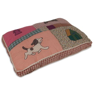 Quilted Novelty Gusseted Dog Pillow