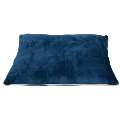 Luxe Dog Pillow Color: Blue