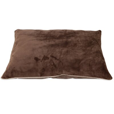 Luxe Dog Pillow Color: Brown