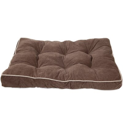 Luxe Gusseted Dog Pillow Color: Brown