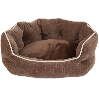Mattie Bolster Dog Bed Color: Brown
