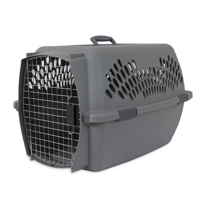 Millard Traditional Pet Carrier Size: 18.56 H x 16.5 W x 26.15 L