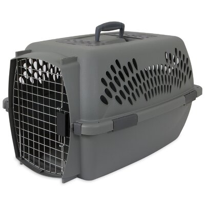 Millard Traditional Pet Carrier Size: 16.73 H x 14.5 W x 24.1 L