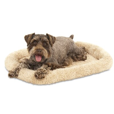Bolster Kennel Dog Mat Size: 16.5 W x 23.5 D x 3.25 H