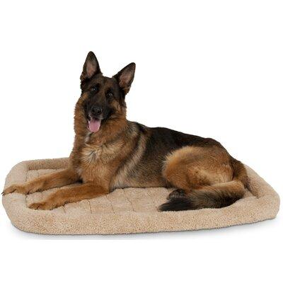 Milbrandt Bolster Kennel Dog Mat Size: 26.5 W x 41.5 D x 3.5 H