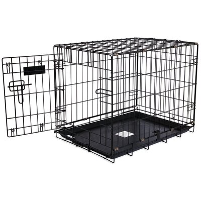 Jeffords Single-Door Home Training Pet Crate Size: 19 H x 18 W x 24 L