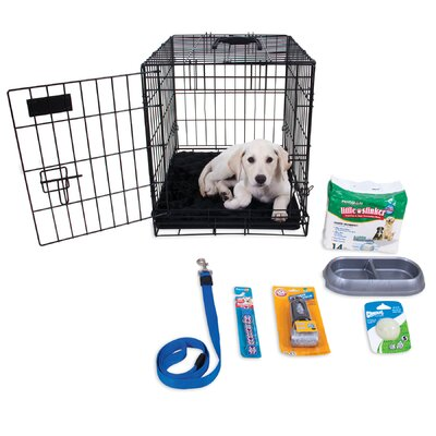 Millie Puppy Starter Kit Color: Black