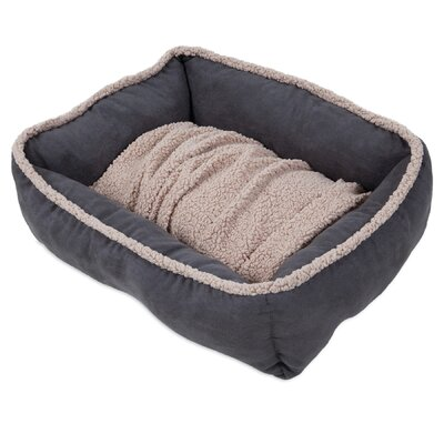 Miko Shearling Lounger Dog Bed Size: 24 L x 20 W