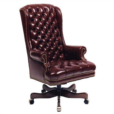 Boss Black Leatherplus Executive Chair Gothic Furniture
