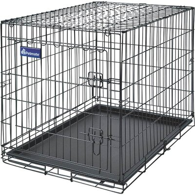 Home Training Wire Kennel Dog House Size: 24.6 H X 1.8 W X 37.6 D