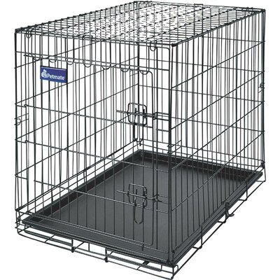 Home Training Wire Kennel Dog House Size: 21.5 H X 1.8 W X 33.3 D