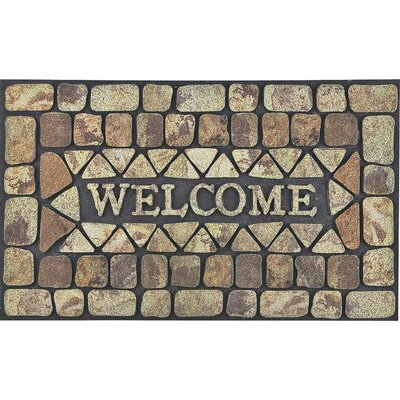 Flocking Welcome Doormat