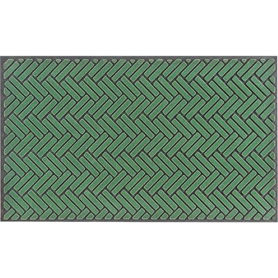 Flocking Stripe Doormat