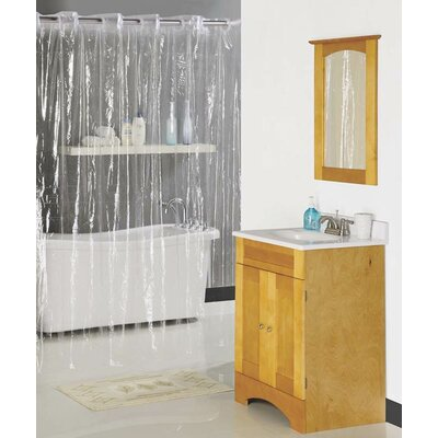 Shower Curtain Color: Clear