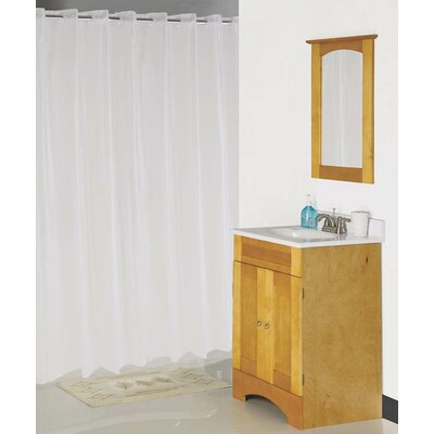 Hookless Shower Curtain Color: Frost