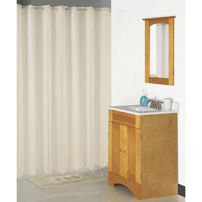 Hookless Shower Curtain Color: Beige