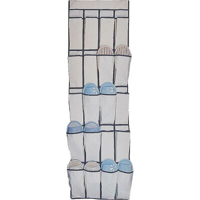 20-Pocket Overdoor Shoe Organizer