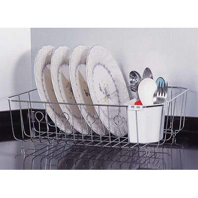 Dish Rack Finish: Chrome
