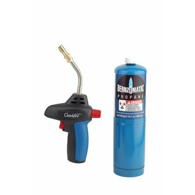 Bernzomatic Basic Propane Torch Kits - quickfire triger start torch 14.1 prop bottle at Sears.com