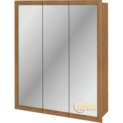 30 x 36 Surface Mount Medicine Cabinet Finish: Oak