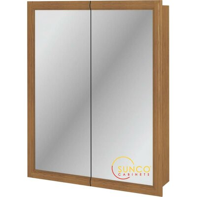 24 x 30 Surface Mount Medicine Cabinet Finish: Natural Oak