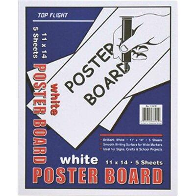 White board poster