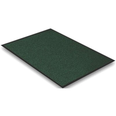 Doormat Rug Size: Rectangle 15 x 25, Color: Green
