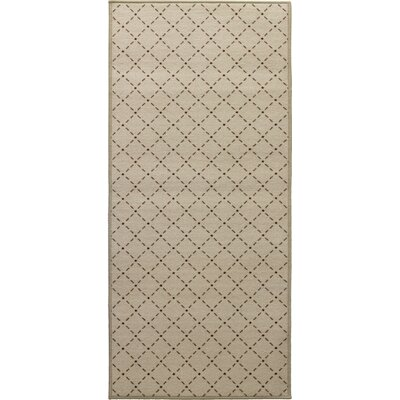 Decorative Mat Rug Size: 22 x 211, Color: Soya