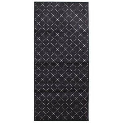 Decorative Mat Rug Size: 22 x 411, Color: Darjeeling Black Tea