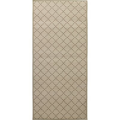 Decorative Mat Rug Size: 22 x 411, Color: Soya
