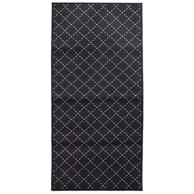 Decorative Mat Mat Size: 22 x 211, Color: Darjeeling Black Tea