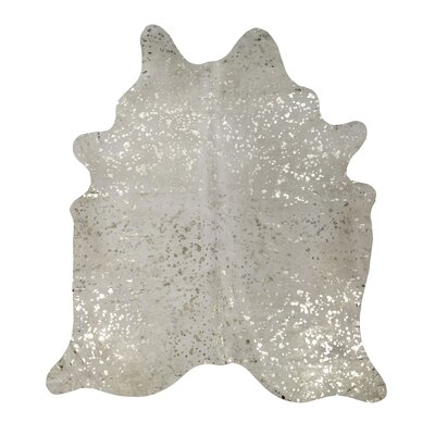 Devore Brown/White Cowhide Area Rug