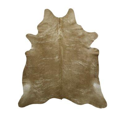 Handmade Beige Area Rug Rug Size: 66 x 76