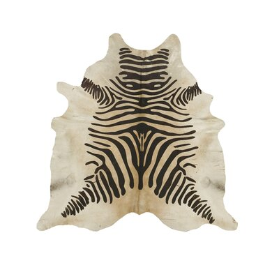 Devore Zebra Brown/Beige Area Rug