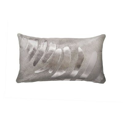 Zebra Devore Lumbar Pillow