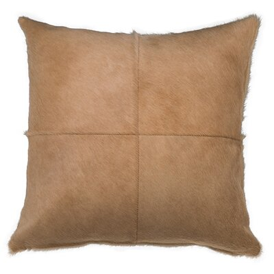 Double Sided 2 Panels Lumbar Pillow Color: Light Beige