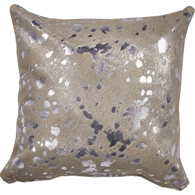Devore Full Panel Throw Pillow Size: 18 x 18