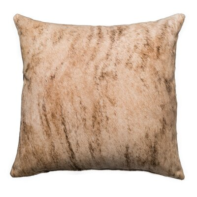 Brindle Double Sided Single Panel Throw Pillow Size: 22 x 22