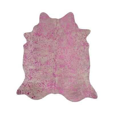 Wild Pink Area Rug