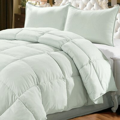 Down Alternative 3 Piece Comforter Set Size: Queen, Color: Chalk Blue