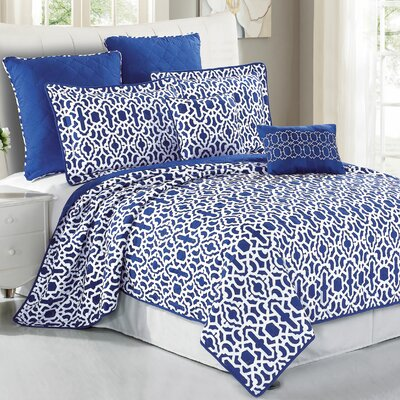 Montgomery 7 Piece Coverlet Set Size: Queen