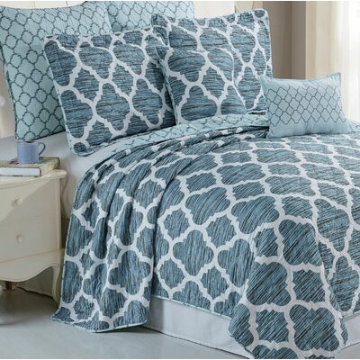 Honor 7 Piece Coverlet Set Size: Queen
