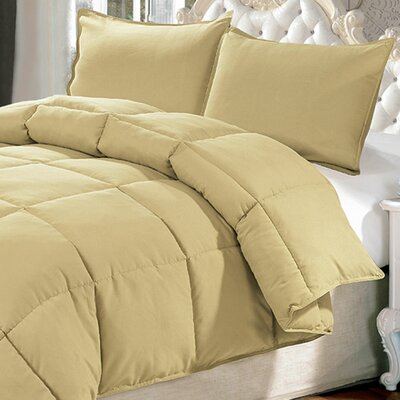 Down Alternative 3 Piece Comforter Set Size: Queen, Color: Southern Moss