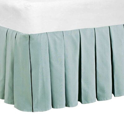 Classic Dust Ruffle Bed Skirt Size: King, Color: Light Gray