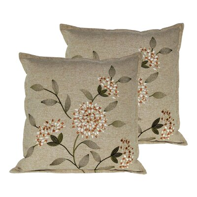Sunflower Throw Pillow Color: Gold